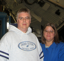 Mark and Mary at NASA